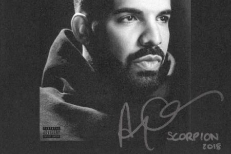 """Com mais de 1 bilhão de streams, Drake quebra todos os recordes na primeira semana de lançamento do álbum """"Scorpion"""""""