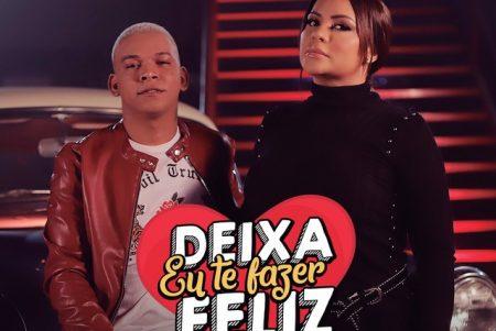 """Márcia Fellipe, juntamente com o cantor Aldair Playboy, lança a faixa e o vídeo de """"Deixa Eu Te Fazer Feliz"""""""