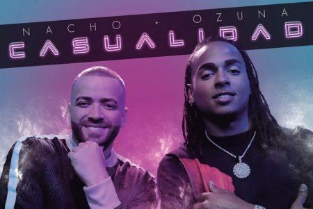 """O cantor Nacho lança novo single, """"Casualidad"""", com a participação de Ozuna"""