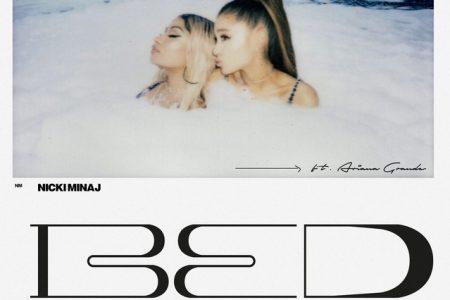 """Nicki Minaj lança mais uma canção de seu novo disco """"Queen"""". Ouça agora """"Bed"""", single em parceria com Ariana Grande"""