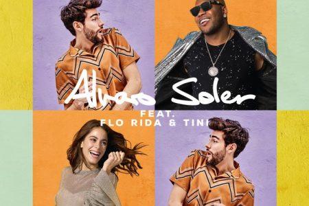 """Alvaro Soler lança remix de """"La Cintura"""", com a participação do rapper Flo Rida e da cantora e atriz Tini"""