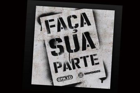"""Assista ao lyric video de """"Faça Sua Parte"""", da banda CPM 22, em parceria com Raimundos"""