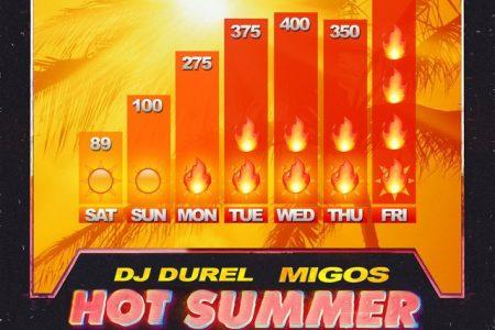 """DJ Durel e o trio Migos apresentam o videoclipe de """"Hot Summer"""""""