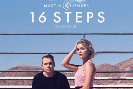 """Martin Jensen conta com a colaboração de Olivia Holt para lançar seu novo single, """"16 Steps"""". Ouça agora!"""