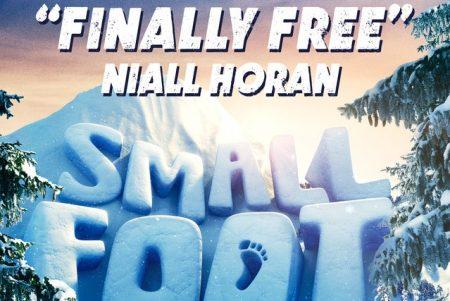 """Niall Horan divulga """"Finally Free"""", música que faz parte da trilha sonora da animação """"Pé Pequeno"""""""