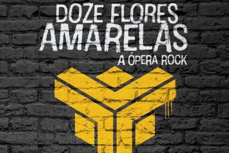 """Titãs apresenta, nesta sexta, o trailer do DVD da ópera-rock """"Doze Flores Amarelas"""""""