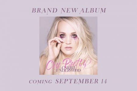 """Carrie Underwood anuncia o repertório de seu novo álbum, """"Cry Pretty"""""""