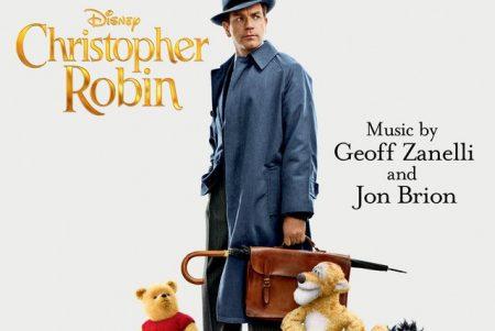 """A trilha sonora do novo filme da Disney, """"Christopher Robin – Um Reencontro Inesquecível"""", chega hoje às plataformas digitais"""