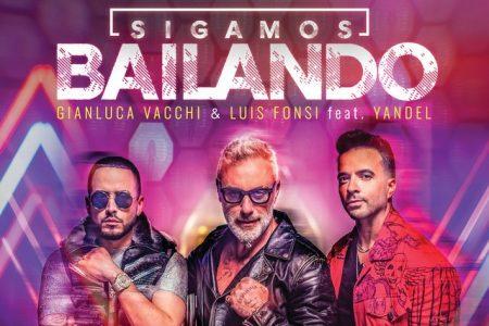 """Em mais uma colaboração de peso, Gianluca Vacchi convida Luis Fonsi e Yandel para lançar """"Sigamos Bailando"""""""