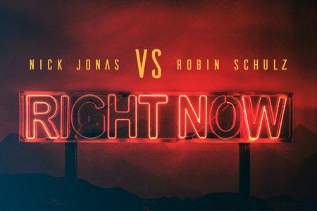 "Ouça agora, ""Right Now"", nova faixa de Nick Jonas e Robin Schulz"