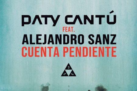 """A cantora Paty Cantú estreia parceria com Alejandro Sanz no novo single, """"Cuenta Pendiente"""""""