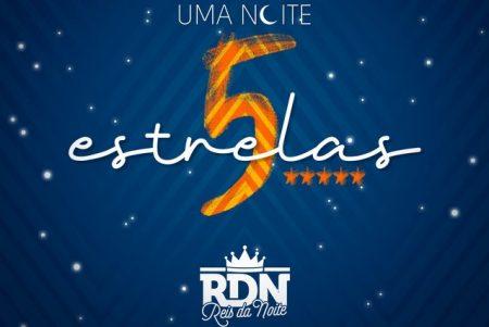"""O grupo RDN apresenta novo single, """"Uma Noite 5 Estrelas"""", acompanhado de clipe"""