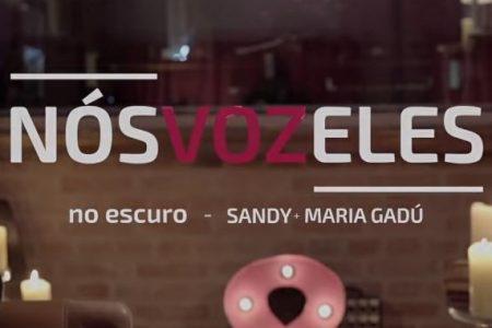 """Sandy lança os dois primeiros episódios de """"Nós VOZ Eles"""", com a participação de Maria Gadú e Lucas Lima. Ouça as faixas-tema """"No Escuro"""" e """"Areia"""""""