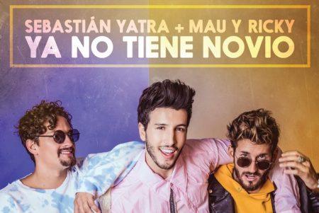 """O astro latino Sebastián Yatra estreia novo single e vídeo, """"Ya No Tiene Novio"""", com a participação de Mau e Ricky"""