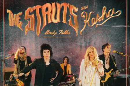 "A banda The Struts convida Kesha para o lançamento do remix de ""Body Talks"""