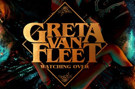 """Watching Over"" é a nova música da banda Greta Van Fleet, parte do aguardado álbum ""Anthem Of The Peaceful Army"""