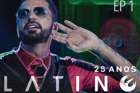 """Chega às principais lojas do país o DVD """"Latino Fantasy – 25 Anos"""", do cantor Latino"""