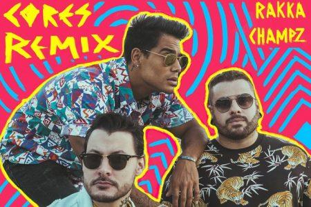 """Kiko Franco, Rakka e ChampZ Remix assinam a nova versão remix da música """"Cores"""", do Seakret e Micael"""
