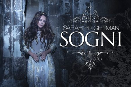 """Sarah Brightman revela o lançamento de seu novo disco de estúdio, """"Hymn"""", disponível no dia 9 de novembro"""