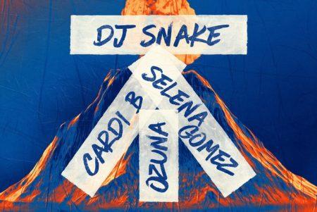 "DJ Snake convida Selena Gomez, Ozuna e a rapper Cardi B para participar de seu novo single. Confira ""Taki Taki"""