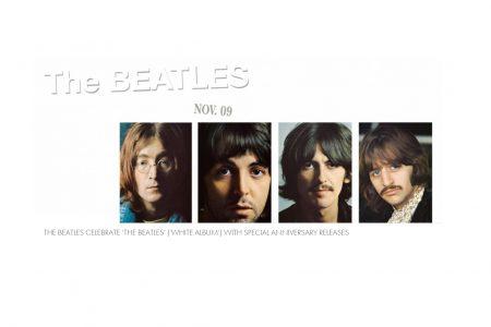 """Os Beatles são celebrados com lançamento da edição de aniversário do antológico álbum """"The Beatles"""" ('The White Album')"""