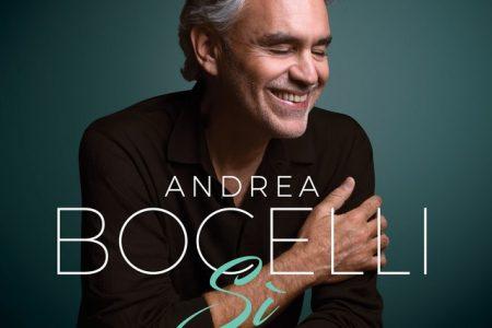 "Andrea Bocelli lança hoje seu novo disco, ""Si"""