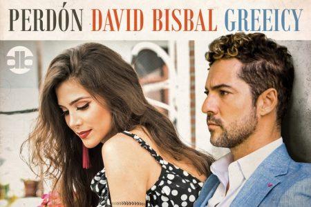 """O espanhol vencedor de três prêmios GRAMMY® Latino, David Bisbal convida a cantora colombiana Greeicy para lançar novo single """"Perdón"""". Confira!"""