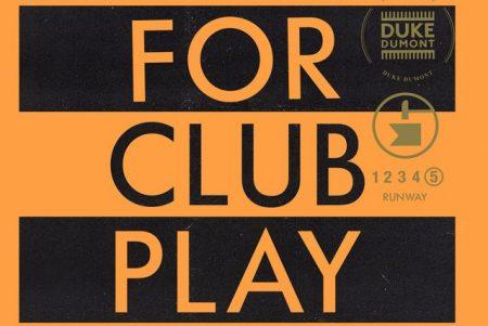 """Ouça agora a nova faixa de Duke Dumont, """"Runway"""" (For Club Play Only Pt.5)"""