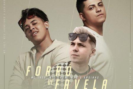 """""""Forró de Favela"""" é o novo single e clipe de MC Jhey, MCs Jhowzinho e Kadinho, disponível no canal Funk Hits"""