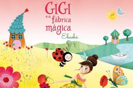 """""""Ebaobá"""" é o novo álbum do projeto infantil Gigi e a Fábrica Mágica, disponível em todas as plataformas digitais. Assista ao clipe de """"Joaninha"""""""