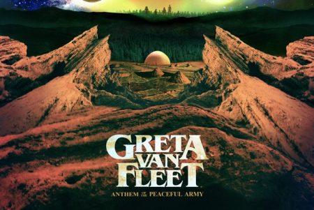 """Primeiro álbum da banda Greta Van Fleet, """"Anthem Of The Peaceful Army"""", já está disponível"""