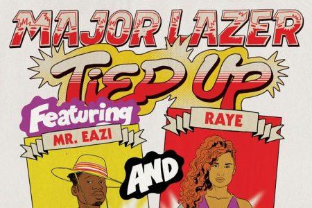 """O grupo Major Lazer apresenta a nova faixa, """"Tied Up"""", em colaboração com Mr. Eazi, Raye e Jake Gosling"""