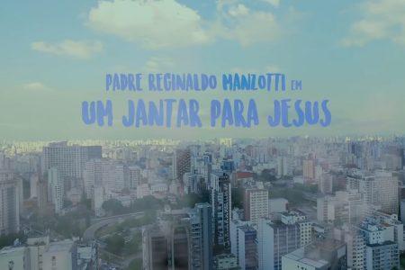 """Padre Reginaldo Manzotti lança o clipe de """"Um Jantar pra Jesus"""", com a participação especial de Michel Teló"""