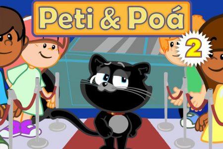 """A charmosa dupla de gatinhos Peti & Poá lança a música e o clipe de """"Ele é o Gato Chicão"""""""