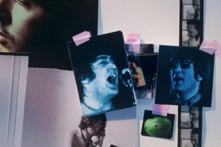 """Lançamento do novo video da música """"Glass Onion"""", dos The Beatles, exclusivamente na Apple Music"""