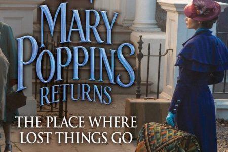 """Já está em pré-venda a trilha sonora do filme """"O Retorno de Mary Poppins"""". Ouça duas faixas inéditas: """"The Place Where The Lost Things Go"""" e """"Trip A Little Light Fantastic"""""""