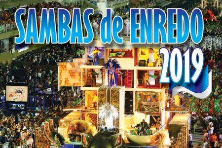 """O esquenta do carnaval 2019 já começou! Chega às principais lojas e plataformas digitais o álbum """"Sambas de Enredo"""""""