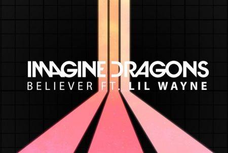 """Ouça agora a versão remix de """"Believer"""", do Imagine Dragons, com a participação do rapper Lil Wayne"""