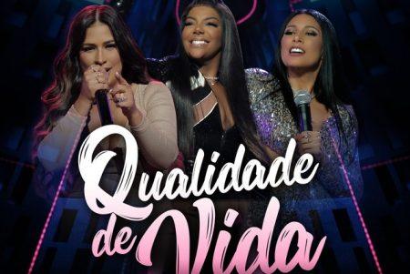 """Em menos de 48 horas, o clipe do novo single """"Qualidade de Vida"""" da dupla Simone & Simaria, ultrapassa a marca de 3,5 milhões de views"""