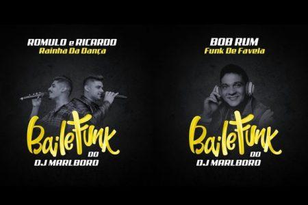 """O """"Baile do Marlboro"""", novo projeto do DJ Marlboro, segue a todo vapor. Ouça as faixas """"Rainha da Dança"""", com a participação de Romulo & Ricardo, e """"Funk de Favela"""", com a colaboração de Bob Rum"""