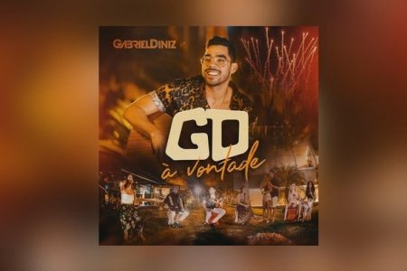 """Gabriel Diniz, dono do hit """"Jenifer"""", lança seu novo álbum, """"À Vontade"""". Assista também ao vídeo de """"Safadezinha"""""""