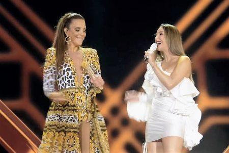 """As musas baianas Ivete Sangalo e Claudia Leitte apresentam o vídeo de """"Lambada (Corpo Molinho)"""""""