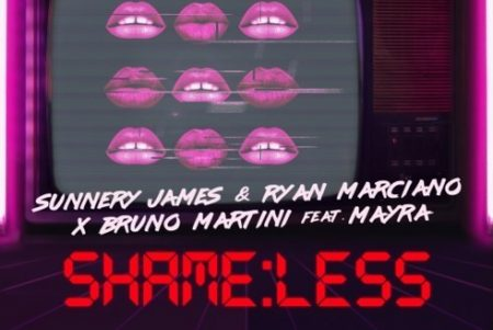 "O SINGLE ""SHAMELESS"", DE BRUNO MARTINI, MAYRA E O DUO SUNNERY JAMES & RYAN MARCIANO, NÃO PARA DE SURPREENDER E ENTRA PARA O CHART DA BILLBOARD NOS EUA"