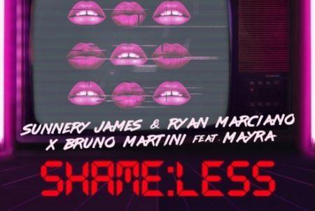 """Após o sucesso de """"Savages"""", Bruno Martini se une novamente a Sunnery James & Ryan Marciano e Mayra. Confira """"Shameless""""!"""