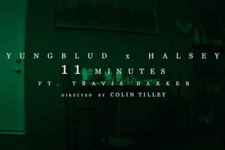 """Yungblud e Halsey disponibilizam a faixa """"11 minutes"""", com a participação de Travis Baker"""