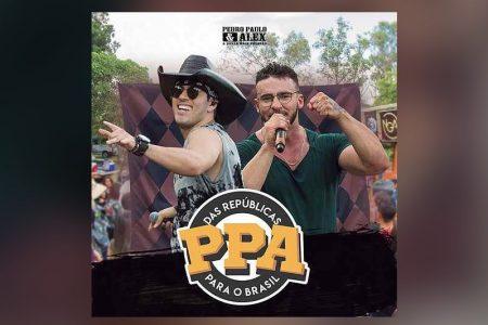 """OS SERTANEJOS PEDRO PAULO & ALEX LANÇAM O EP """"DAS REPÚBLICAS PARA O BRASIL"""". OS VÍDEOS DAS QUATRO FAIXAS CHEGAM AO CANAL DA DUPLA, NO YOUTUBE"""