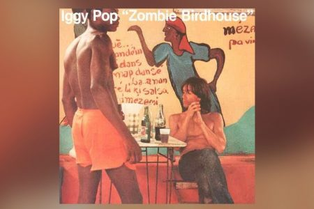 "IGGY POP SEGUE APRESENTANDO AS NOVAS VERSÕES DO ÁLBUM ""ZOMBIE BIRDHOUSE"". OUÇA ""WATCHING THE NEWS"""