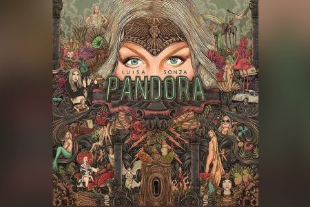 """""""PANDORA"""", O ÁLBUM DE ESTREIA DA CANTORA LUÍSA SONZA, JÁ ESTÁ DISPONÍVEL. ASSISTA TAMBÉM AO VÍDEO DE """"GARUPA"""", COM A PARTICIPAÇÃO DE PABLLO VITTAR"""