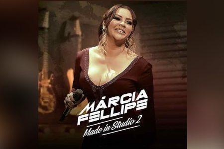 """MÁRCIA FELLIPE LANÇA SEU NOVO EP, """"MADE IN STUDIO 2"""", E DÁ INÍCIO ÀS COMEMORAÇÕES DE SÃO JOÃO"""