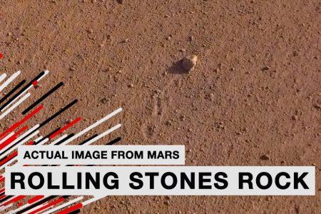 NASA NOMEIA ROCHA ENCONTRADA EM MARTE EM HOMENAGEM AOS ROLLING STONES